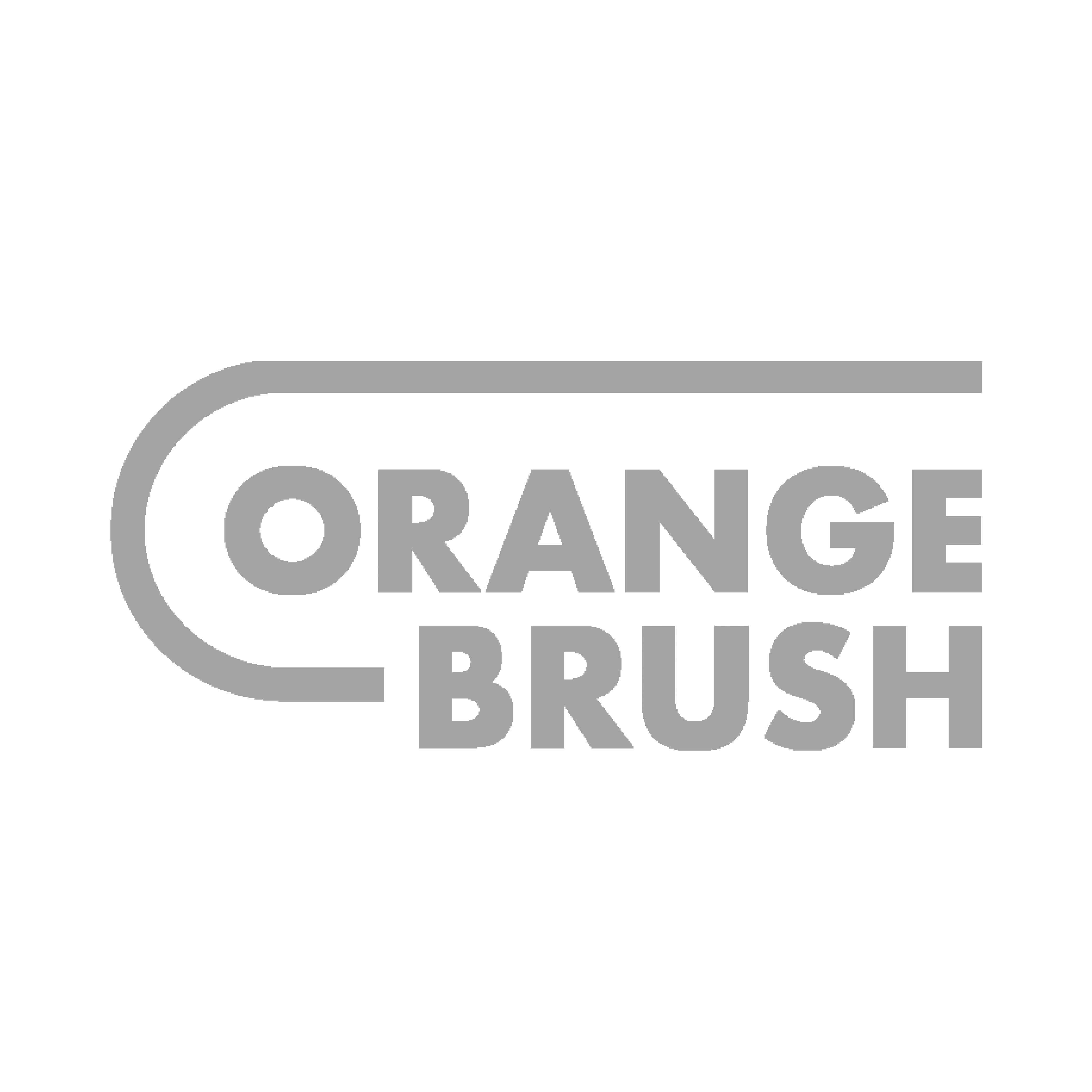Orange Brush