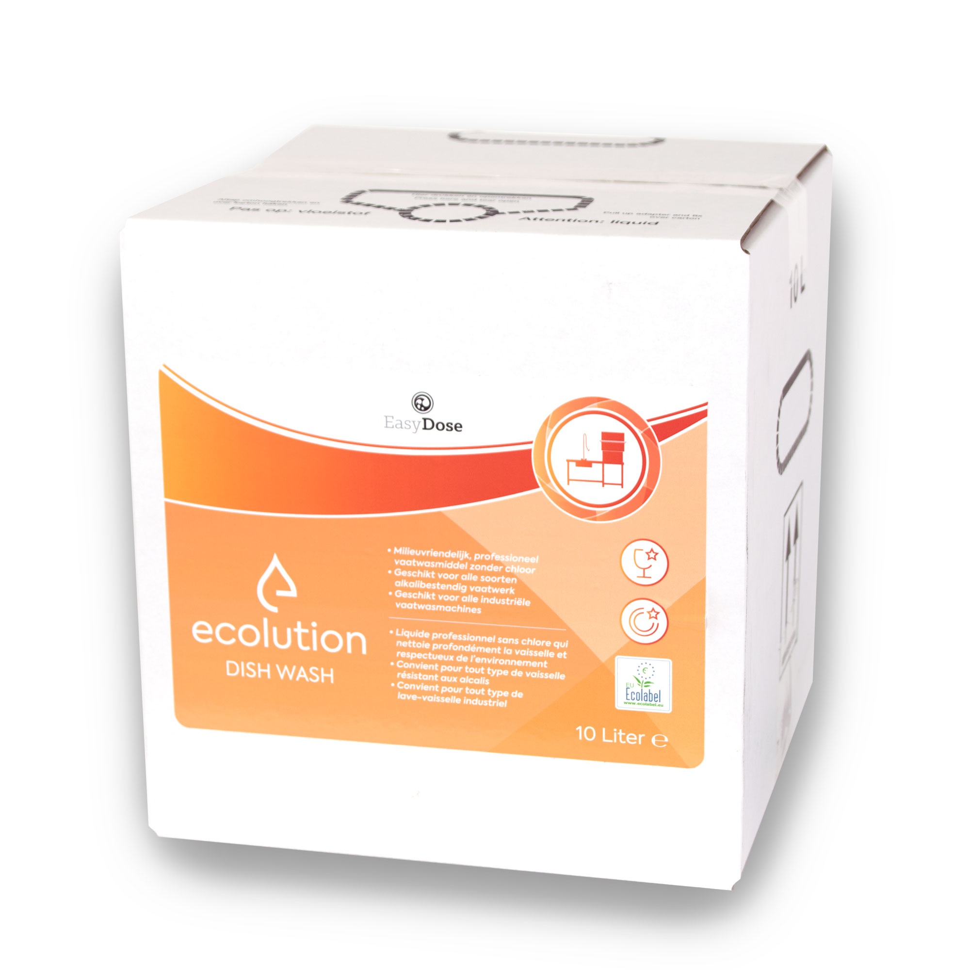 1035150_01 Ecolution Dish Wash ecolabel 10 liter BiB