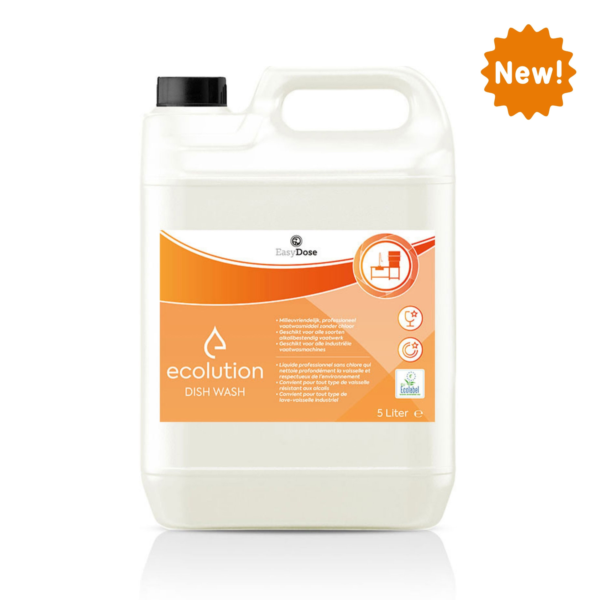 1035150_03 Ecolution Dish Wash ecolabel 5 liter Can (180)